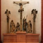 Kreuzigungsgruppe von Hans Backoffen